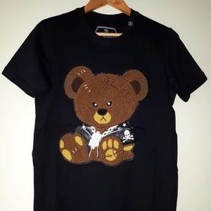 New Philipp Plein Cotton Embroidered T-Shirt